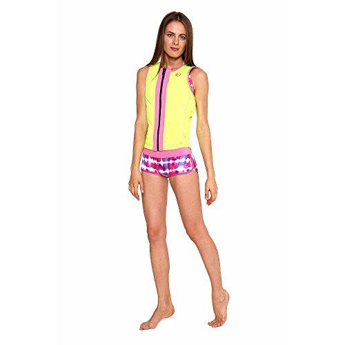 GlideSoul Reversible Impact Vest, Lemon/Pink, X-Small -
