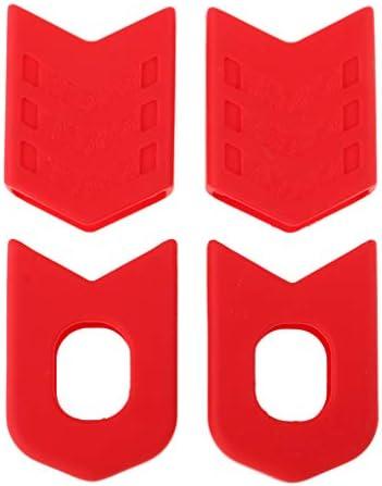 D DOLITY 自転車クランク プロテクター セット 先端保護カバー 耐変色