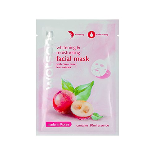 [Watsons Whitening & Moisturising Facial Mask with Camu Camu Fruit Extract 1 Pcs 258225 Created by] (Doctor Watson Costume)