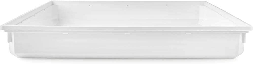 NEDIS WADT110AT70 Bandeja de Goteo para Lavadora | 70 x 70 x 10 cm | Blanca