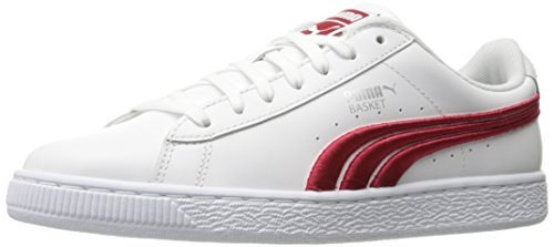 Puma Heren Mand Classic Badge Fashion Sneaker Puma Wit-barbados