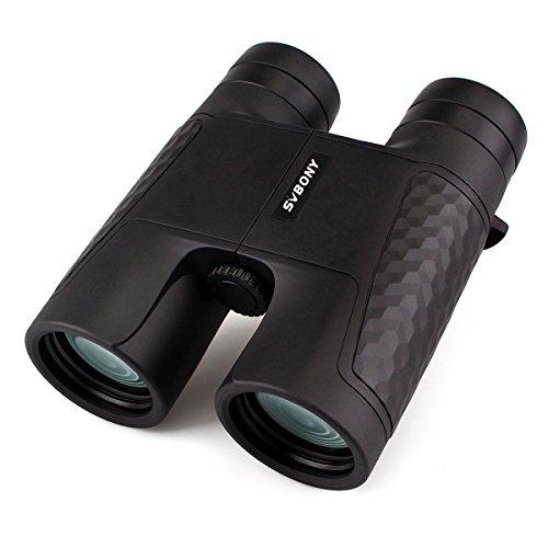 SVBONY SV30 Auto Focus Binoculars Concert Binoculars for Adults Sports Theater Opera Compact Binoculars Fixed Focus for Bird Watching(10x42mm)