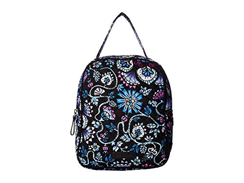 Vera Bradley Iconic Lunch Bunch, Signature Cotton, Bramble