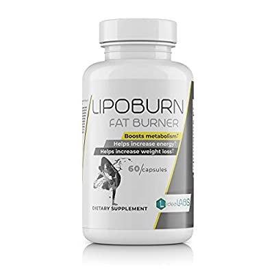 Idea Labs- Lipo Burn- Thermogenic Fat Burner Weight Loss Supplement for Men & Women, Energy Booster, Appetite Suppressant, Reduce Appetite, Amazing Focus, Cognitive Boost