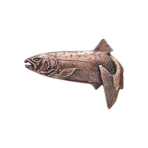 Cuivre ~ ~ bondissant saumon coho Pin's (épinglette/Broche ~ fc048