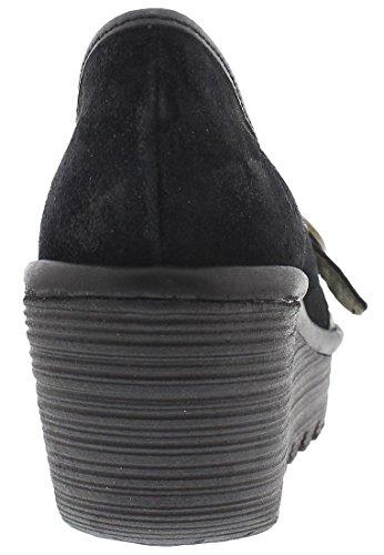 Fly LondonYond771fly - Zapatos de Tacón mujer Negro (Black)