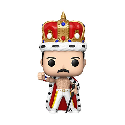 Funko Pop! Rocks: Freddie Mercury King Multicolor, 3.75 inches