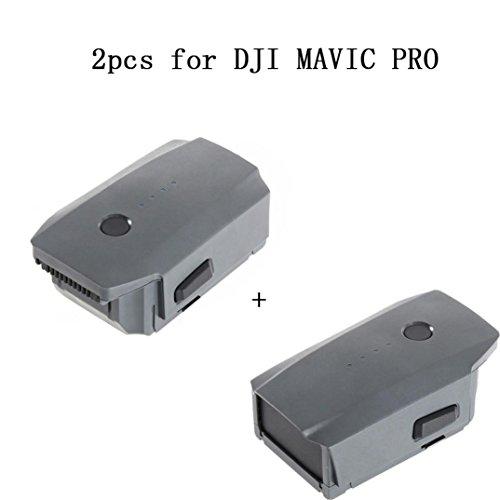 Ularma 2 pcs 3830mAh Intelligent Vol Batterie pour DJI Mavic Pro QuadCopter Drone