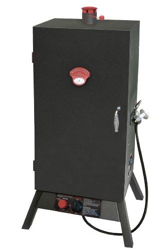Landmann USA 3495BGW Smoky Mountain Vertical Gas Smoker, 34-Inch