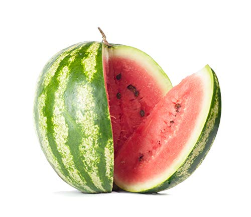 Crimson Sweet - Watermelon Seeds, Crimson Sweet Variety | 60+ Non-GMO, Heirloom Watermelon Seeds | Premium Home Gardening Melons