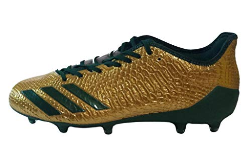 adidas Adizero 5-Star 6.0 Gold Green Low Top Football Cleats BW0782 Men Size 13