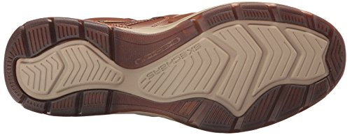 Skechers USA Hombre Elment Brencen Slip-on Loafer, Cognac