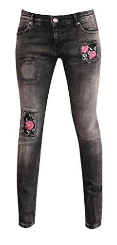 W9048 Jeans Zhrill Black Taille Unique Femme pzd8dIq
