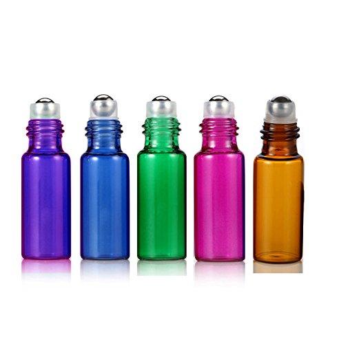 Elfenstall 10pcs Amber Blue Green Pink Purple 5ml 1 6oz