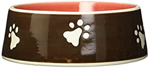 Young's 11623 Ceramic Dog Bowl, 6.75-Inch