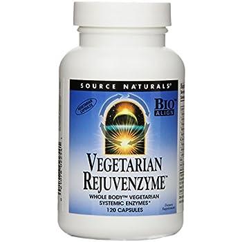 Amazon Com Source Naturals Vegetarian Rejuvenzyme Whole