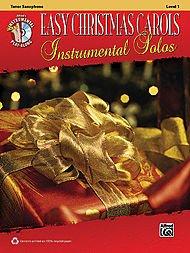(Alfred Easy Christmas Carols Instrumental Solos Tenor Sax Book & CD )