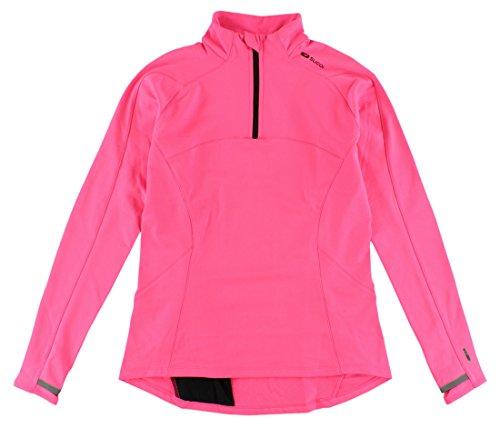 Sugoi Women's MidZero Zip Shirt, Super Pink, (Sugoi Midzero Zip Shirt)