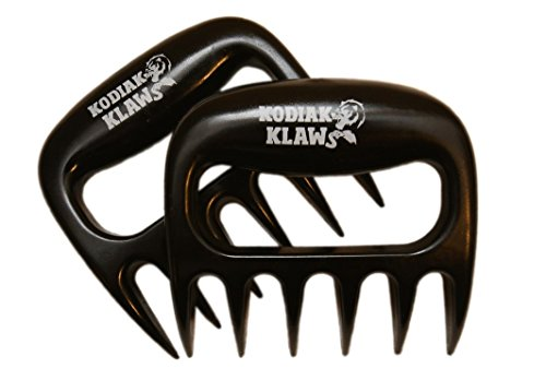 Original-KODIAK-KLAWS-Pulled-Pork-Shredder-Claws-Best-Selling-Superior-Dynamic-Perfect-Strong-Heat-Resistant-Indoor-Outdoor-BPA-Free-Carving-Pulling-Smoking-Shred-Slow-Chef-Barbecue-Seasoned-BBQ-Smoke