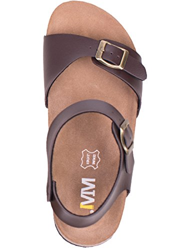 Pictures of Women's Flat Cork Sandals with Adjustable 5