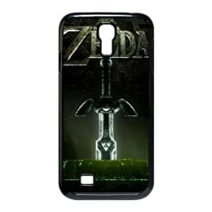 Nintendo Classic Games Series&The Legend of Zelda Background Case Cover for SamSung Galaxy S4 I9500- Personalized Hard Cell Phone Back Protective Case Shell-Perfect as gift