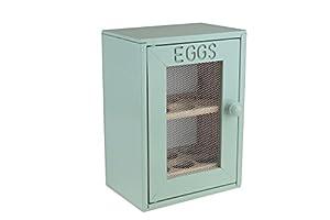Apollo Wood Egg Cabinet, Mint/Green: Amazon.co.uk: Kitchen & Home