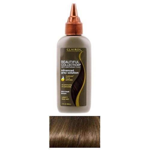 Clairol Professional Beautiful Collection Semi Permanent Hair Color - 1A - Midnight Black