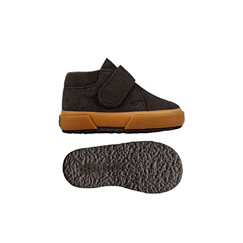Superga S001NW0 - Zapatos de cordones para niños Dark Chocolate