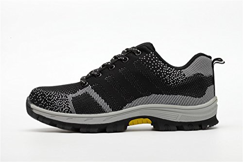 Womens 46 Work Industrial Unisex Shoes Proof Steel Construction 36 Mens Puncture Toe Safety Beeagle Shoes Grey qBHWfn6