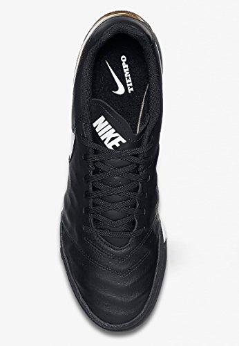 Ii Leather Genio Tf Calcio Tiempo Scarpe Nero Cwq6t1I