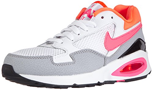 Nike Air Max St 705003 Damen Sneakers Weiß (White/Pink Power-Total Orange-Wolf Grey)