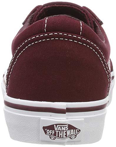 Unisex 8j7 canvas white Ward Vans Port bambini Sneaker Royale Rosso ESvqZf