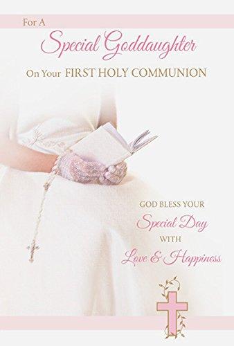 Tarjeta de felicitación especial de primera comunión ...