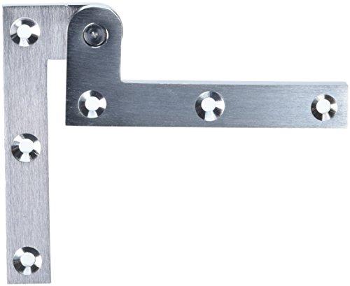 Solid Brass Pivot Base - Deltana PH35U26D Solid Brass 3 7/8-Inch x 5/8-Inch x 1/4-Inch Pivot Hinge