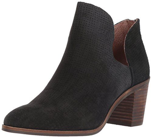 Womens Black Booties (Lucky Brand Women's Powe Ankle Boot, Black, 8.5 Medium)