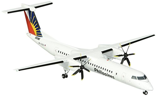 Gemini200 Philippines Dash 8-Q400 Airplane Model (1:200 Scale)
