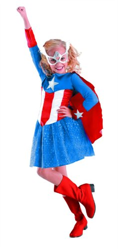 American Dream Girl Classic Costume - Small (4-6x)