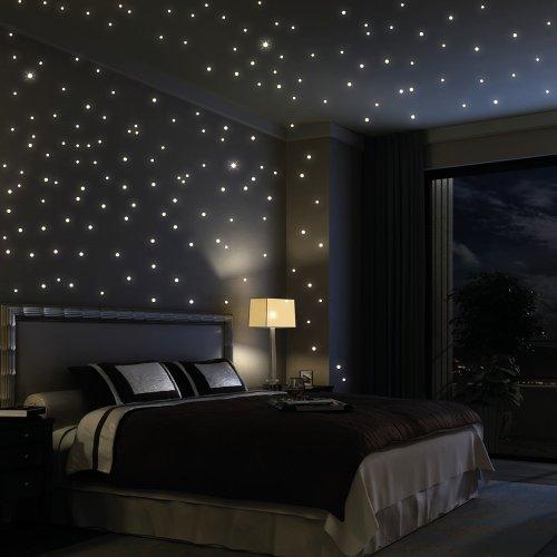 103 opinioni per Adesivo da parete Loft 203punti fluorescenti Cielo stellato (con 3modalità di