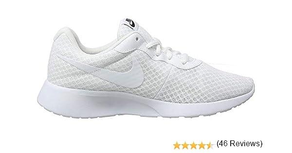 Nike Tanjun, Zapatillas de Running para Mujer, Blanco (White/White ...