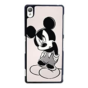 Sony Xperia Z3 Cell Phone Case Black Disney Mickey Mouse Minnie Mouse YT3RN2589614