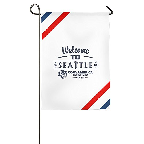 Atoggg 2016 Copa America Centenario Seattle Home Flags/House Flags/Garden Flags 12*18inch / 18*27inch