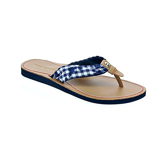Tommy Hilfiger FW0FW02386 Check Beach Sandale/Midnight Floral