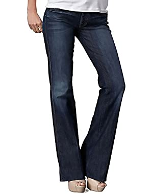 Seven for All Man Kind Women's a Pocket Flare Jean- 30 X 36