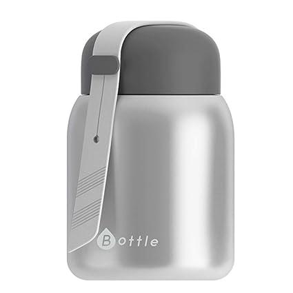 Amazon.com: Beigu - Botella termo de acero inoxidable para ...