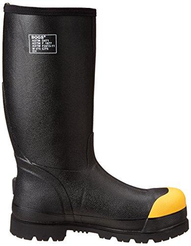 Bogs Mens Forge Lite St Waterproof Work Boot Black