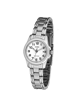 8f6ced5f4aad CASIO 19119 LTP-1215A-7B2D - Reloj Señora cuarzo brazalete metálico dial  blanco