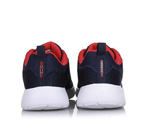 Skechers 97771L NVRD Sneaker Niños Azul