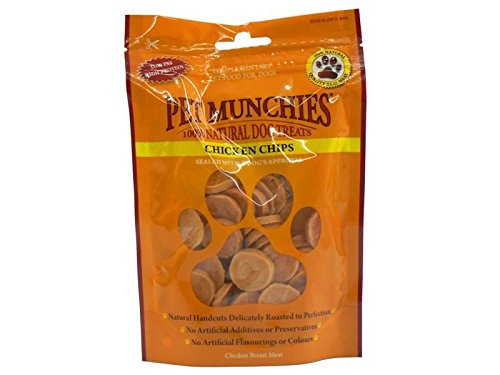 (10 Pack) Pet Munchies - Chicken Chips 100g