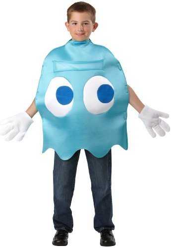 Pac-Man Inky Deluxe Kids Costume by InCogneato (Pac Man Inky Costume)