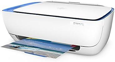 HP DeskJet 3633 AiO- Impresora multifunción de tinta (600 x 300 DPI, 1200 x 1200 DPI, A4, 216 x 297 mm, color, WiFi, LCD, Compatible con HP Instant ...